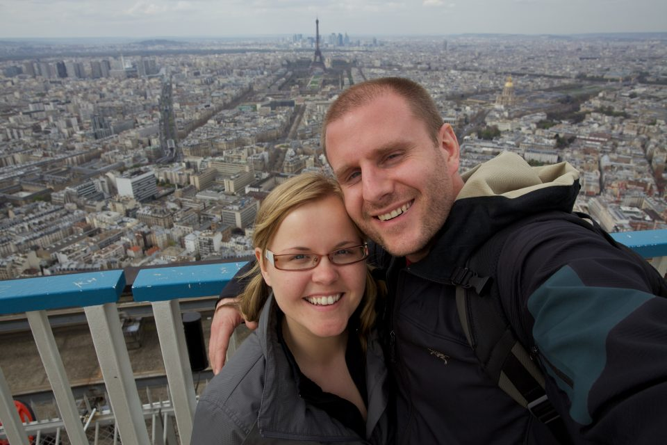 Dorothy and I Atop Montparnasse Lookout