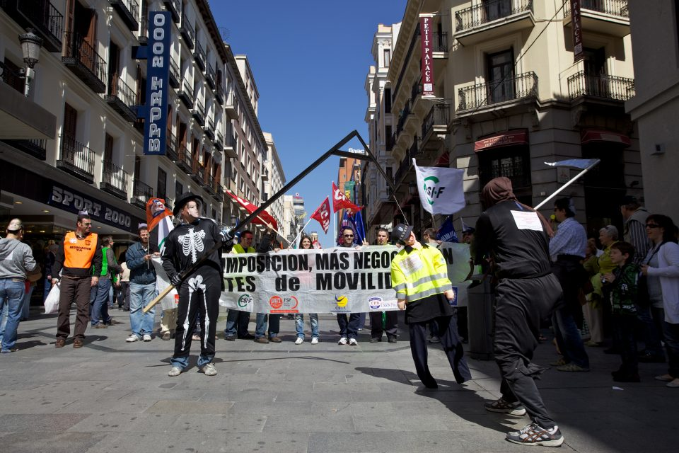 Madrid Protest