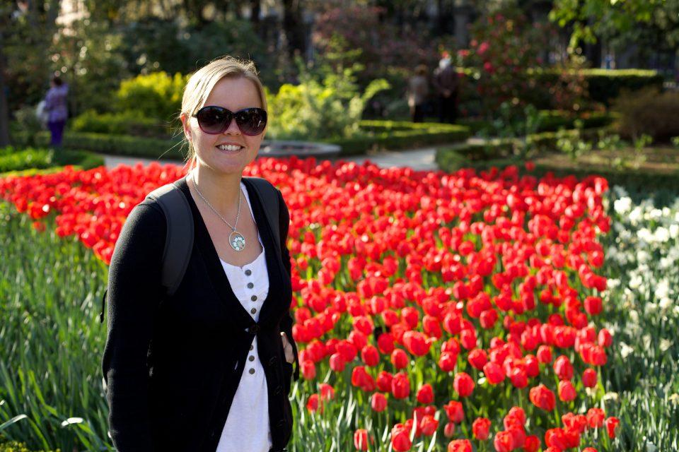 Dorothy at Royal Botanical Garden, Madrid