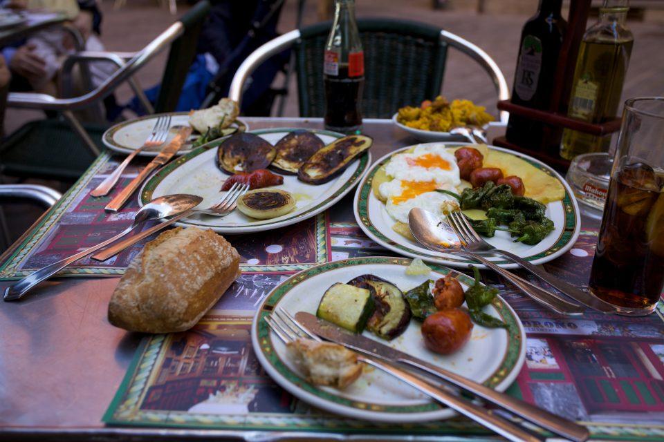 Meal at El Madroño Marid