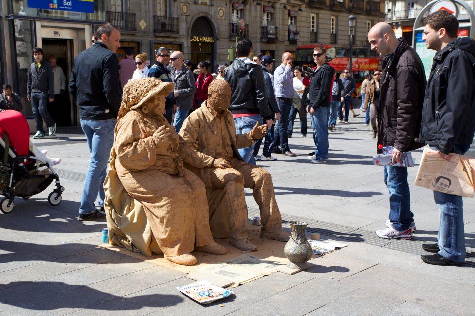 Mud People Street 'Performers'