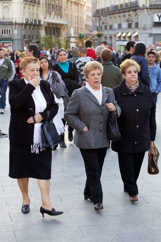 People of Madrid