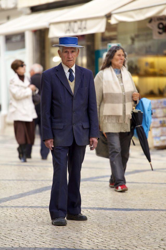 Old Man Looks Kinda Lost