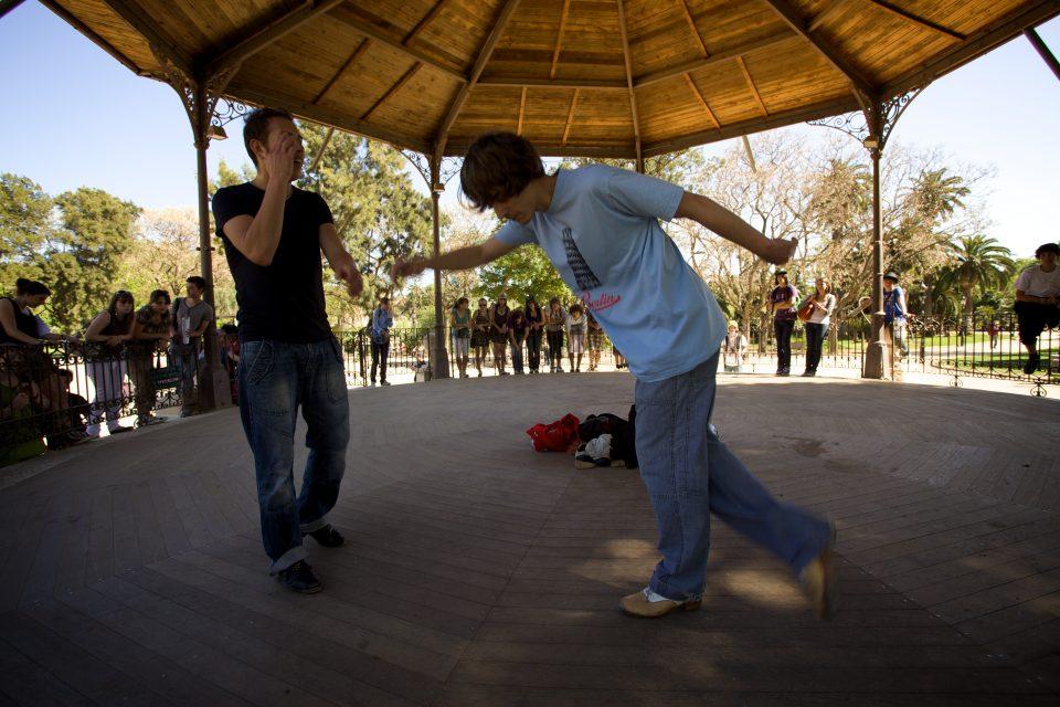 Tap Dancers at Parc de la Ciutadella