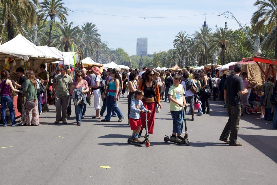 A Hippie Market
