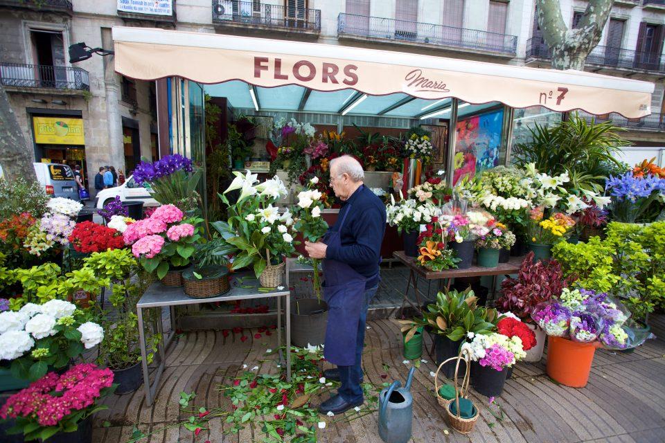 Florist Barcelona La Diada de Sant Jordi
