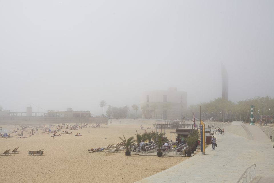 Marine Layer Rolls in at the Beach