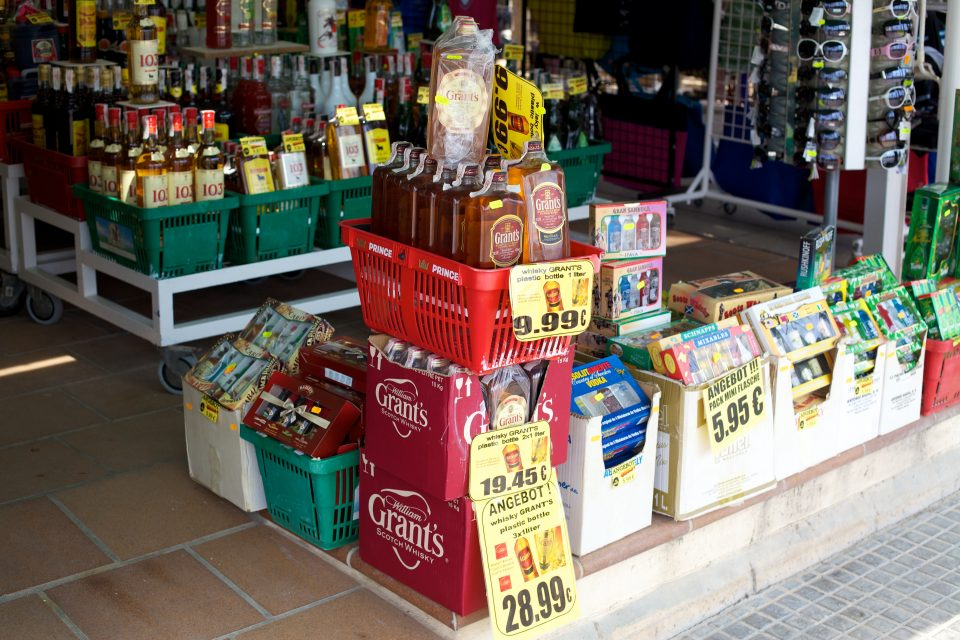 Primary Item in Markets: Booze