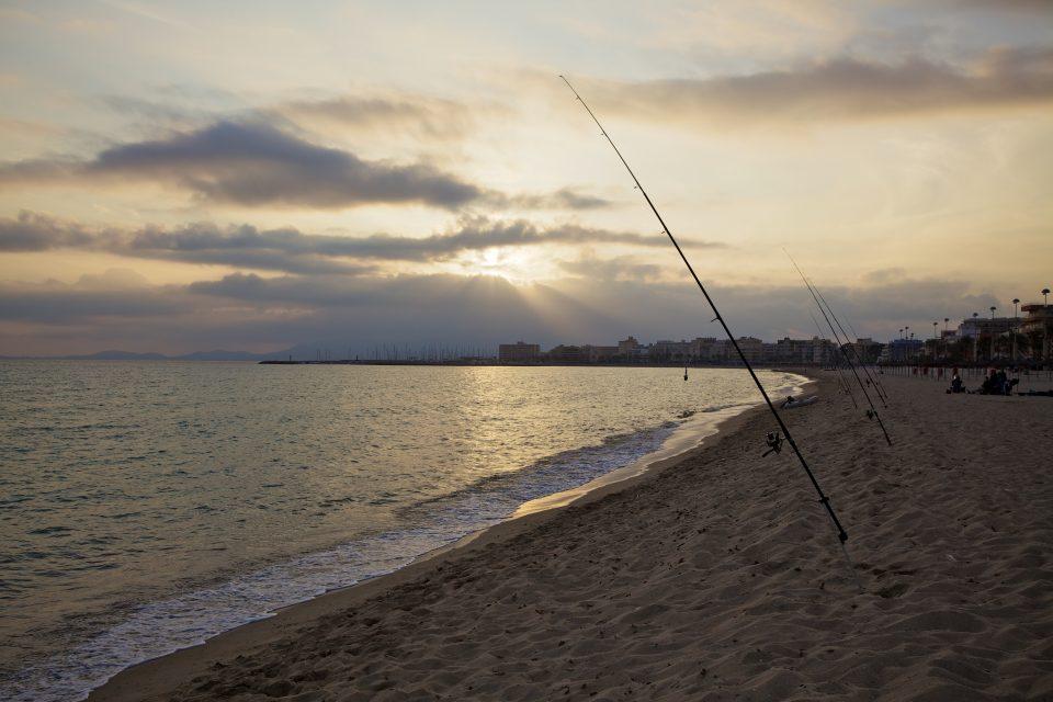 Playa De Palma Majorca Spain Sunset