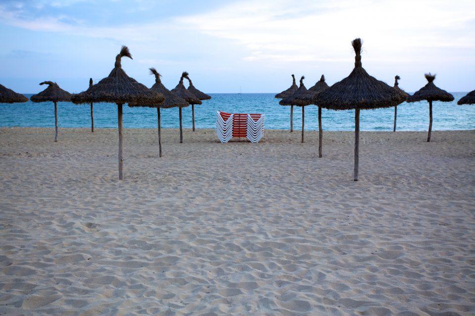 Playa De Palma at Dusk Majorca Spain