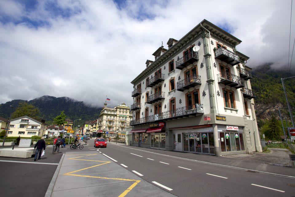 Street Scene Interlaken