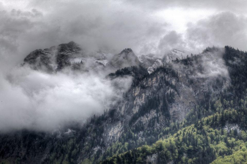 Mountain Range Interlaken