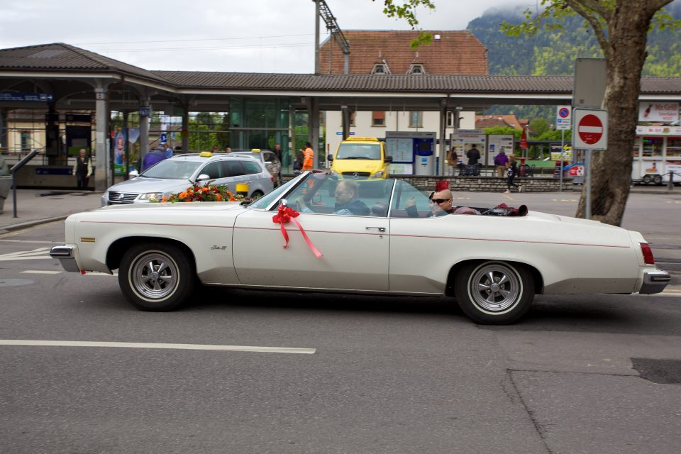 Just Married in Interlaken