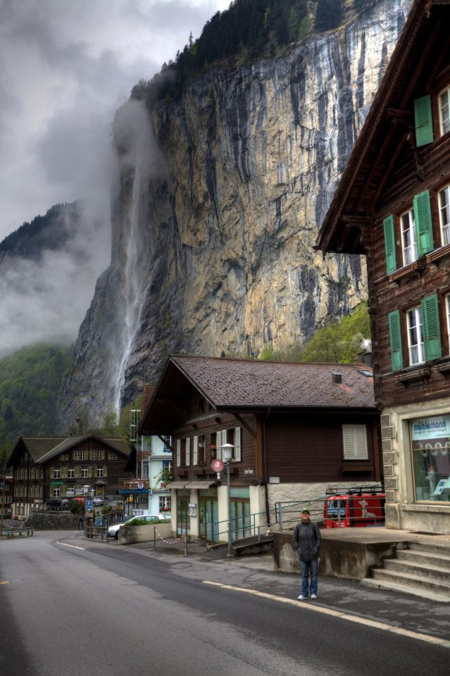 Dorothy in Lauterbrunnen