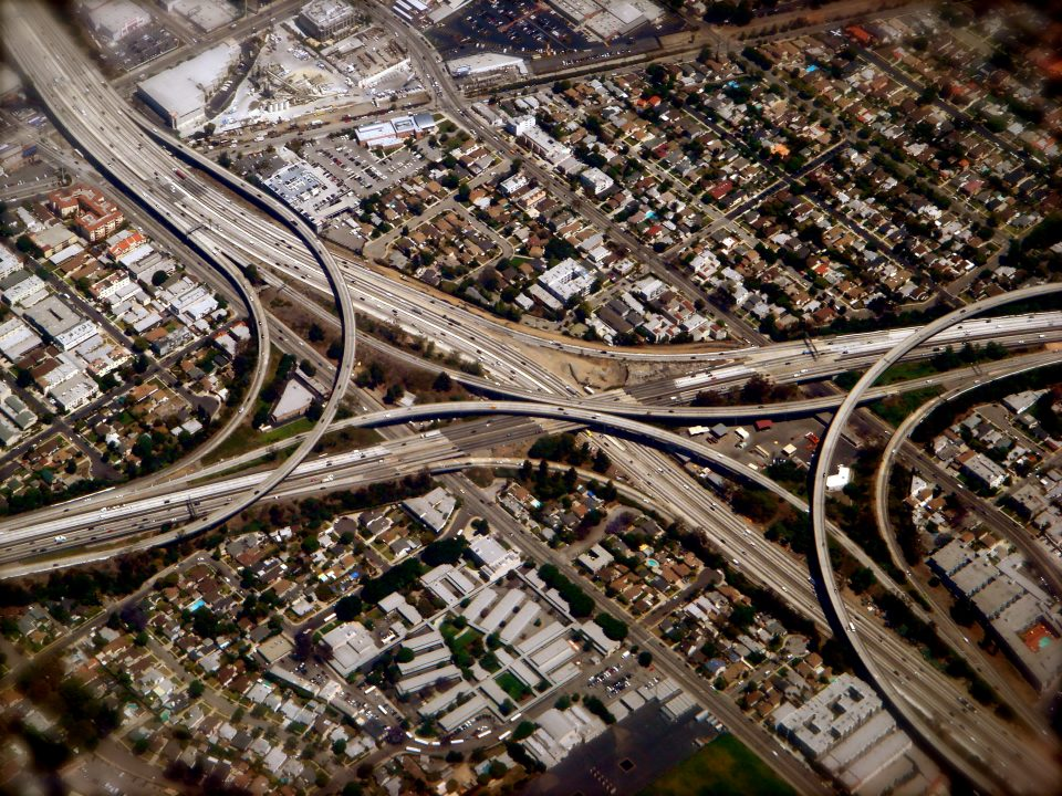superhighway from above