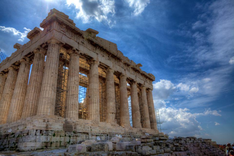 The Acropolis of Athens Athens Greece