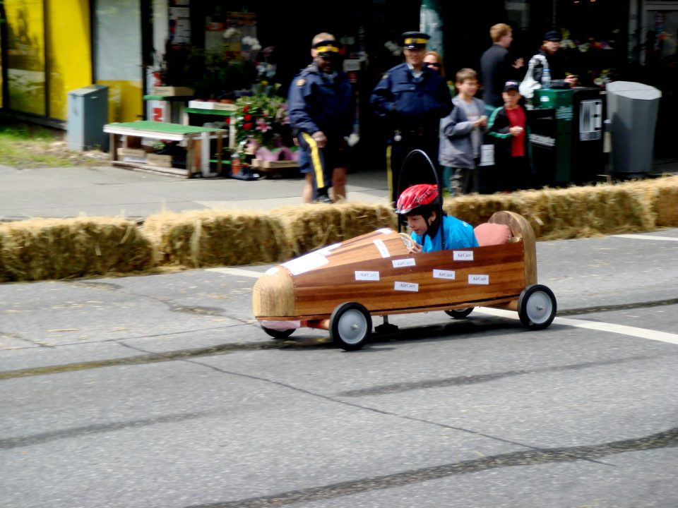 Soap Box Racer Kid