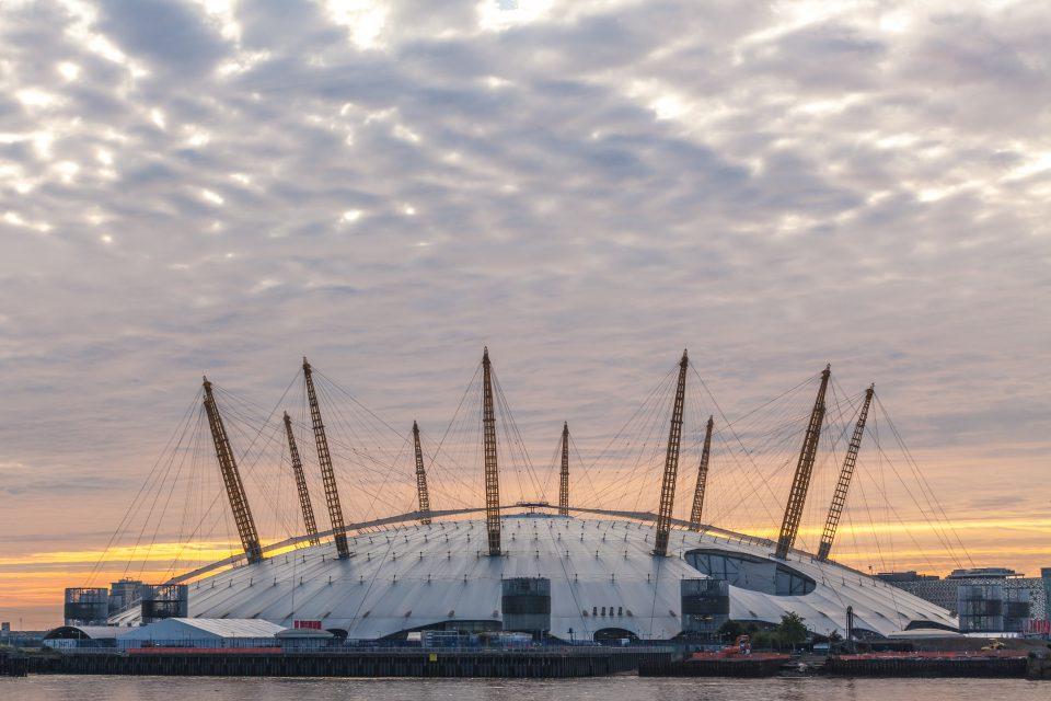 The O2 Arena / Millenium Dome London 2012 Olympics Gymnastics Venue
