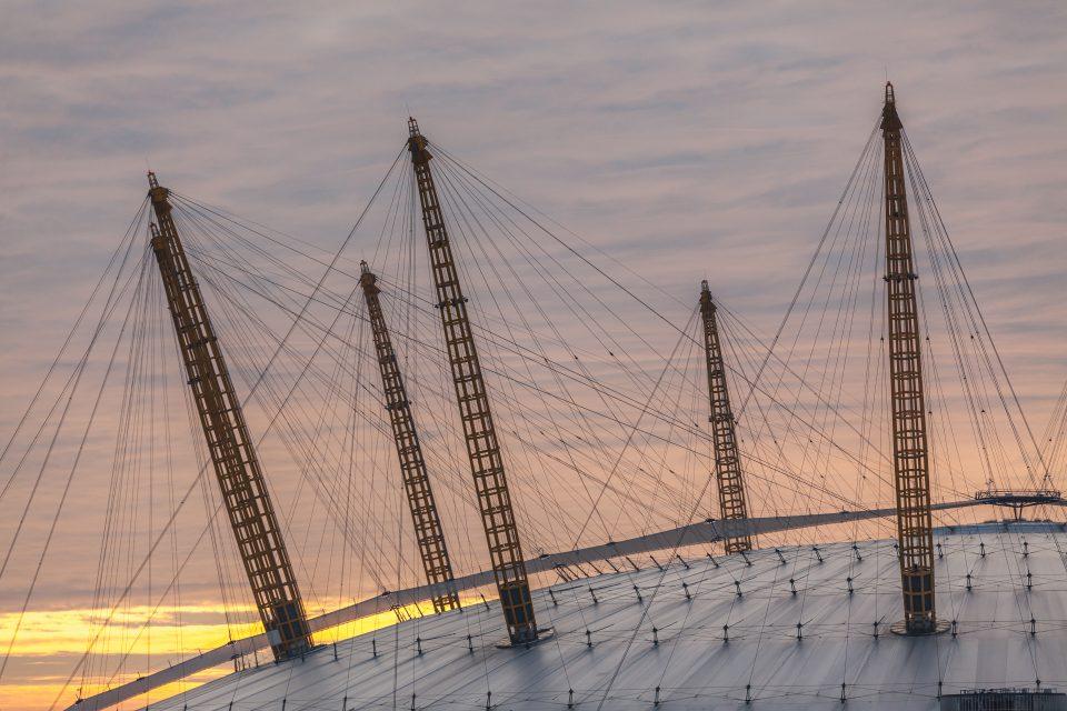 The O2 Arena / Millennium Dome London 2012 Olympics Gymnastics Venue