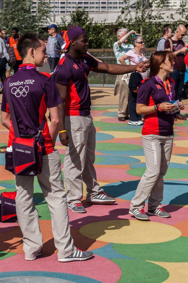 Gamesmakers Volunteers London 2012 Olympics 0166