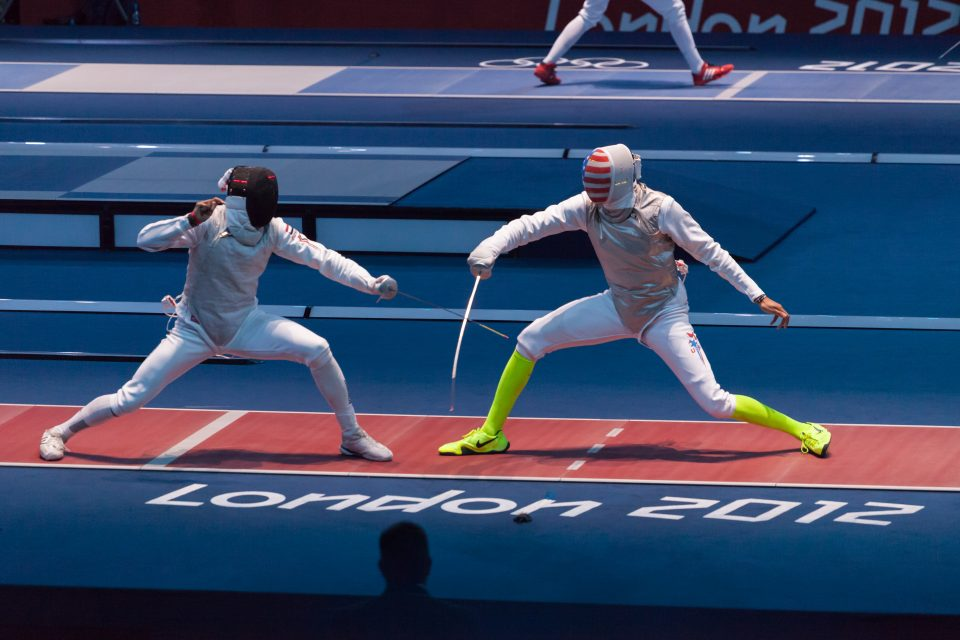 Fencing at Excel Venue London 2012 Olympics 0183