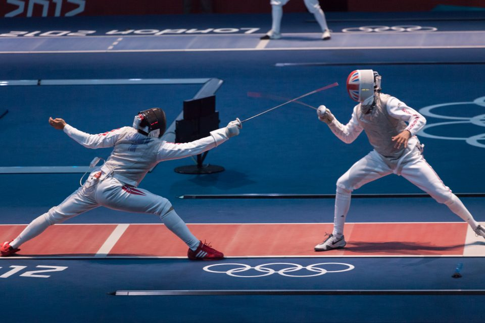 Fencing at Excel Venue London 2012 Olympics 0182