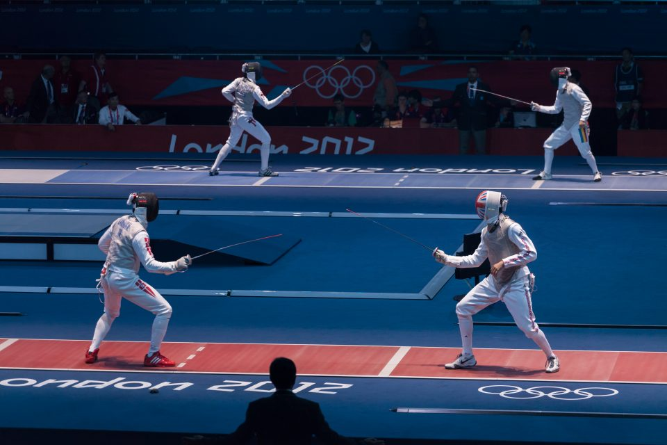 Fencing at Excel Venue London 2012 Olympics 0180