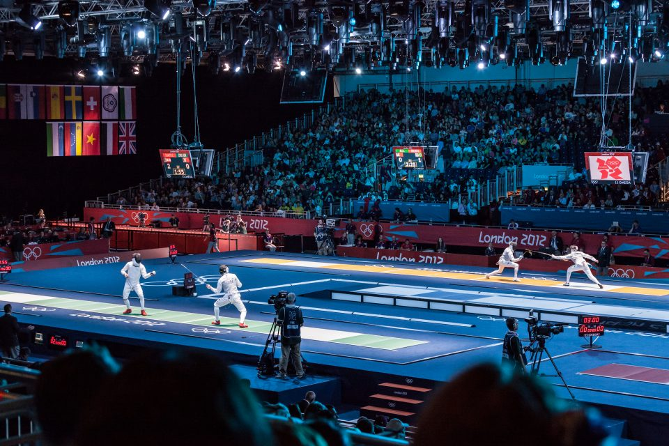 Fencing at Excel Venue London 2012 Olympics 0179