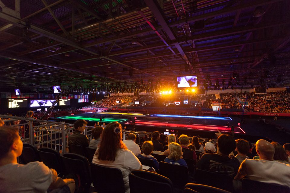 Fencing at Excel Venue London 2012 Olympics 0177