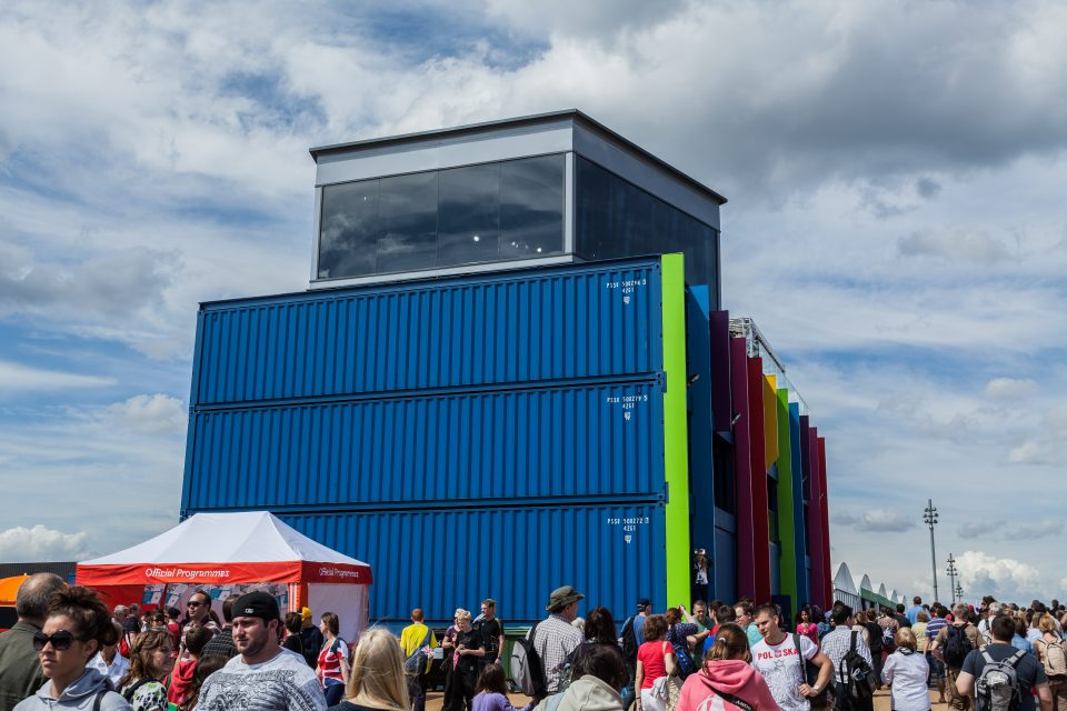 BBC Broadcasting From Shipping Containers London 2012 Olympics 0260