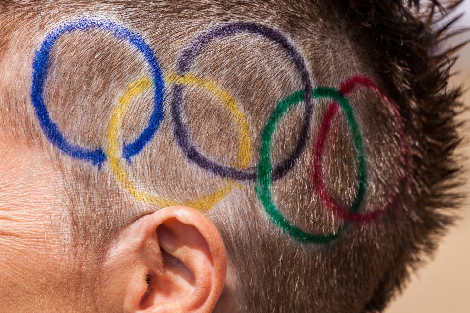 Olympic Rings Haircut London 2012 Olympics 0256