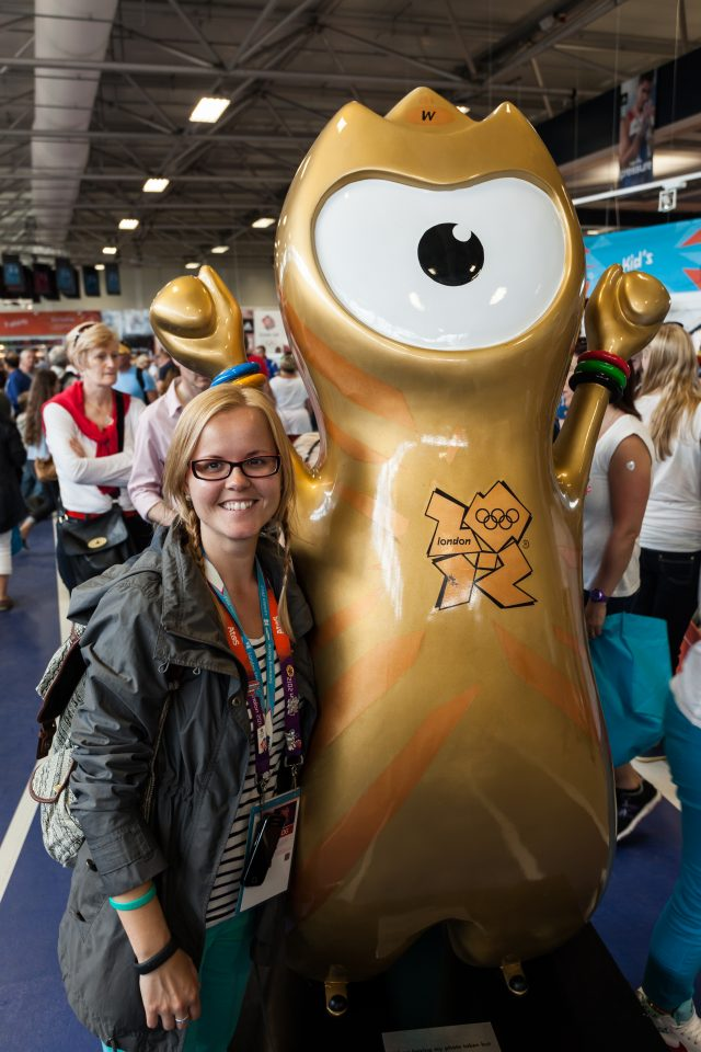 Dorothy and Gold Wenlock London 2012 Olympics 0258