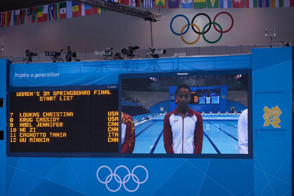 Women's 3M Diving Final London 2012 Olympics 0359