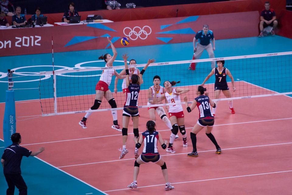 Women's Volleyball London 2012 Olympics 0350