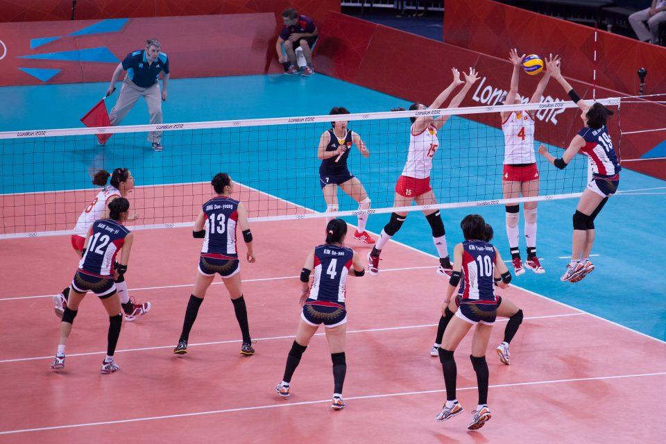 Women's Volleyball London 2012 Olympics 0349