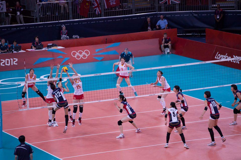 Women's Volleyball London 2012 Olympics 0348