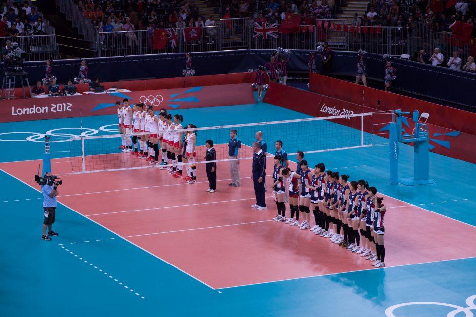 Women's Volleyball London 2012 Olympics 0347