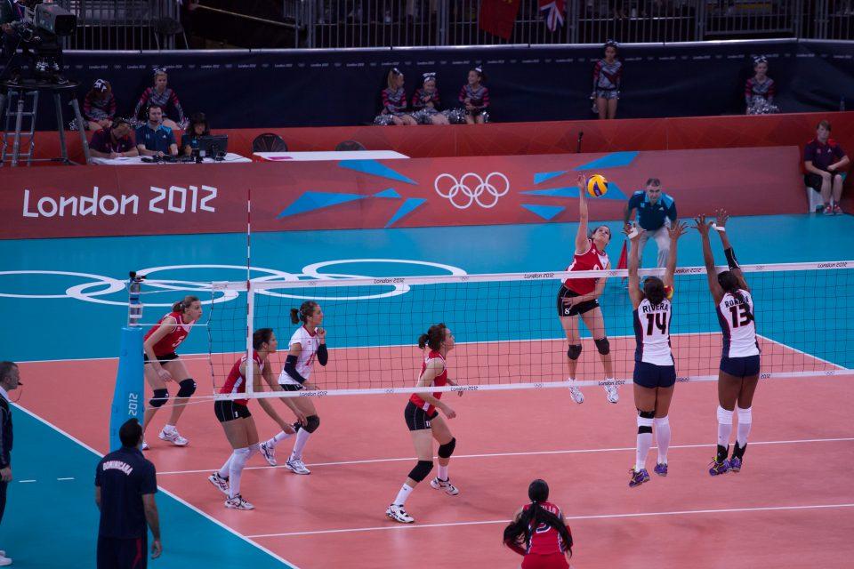 Women's Volleyball London 2012 Olympics 0346