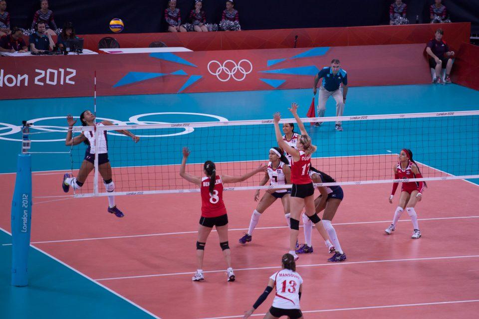 Women's Volleyball London 2012 Olympics 0345