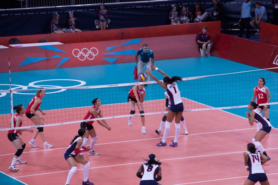 Women's Volleyball London 2012 Olympics 0344