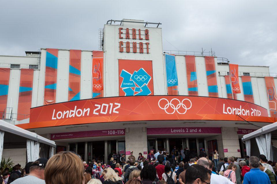 Earl's Court Venue London 2012 Olympics 0343