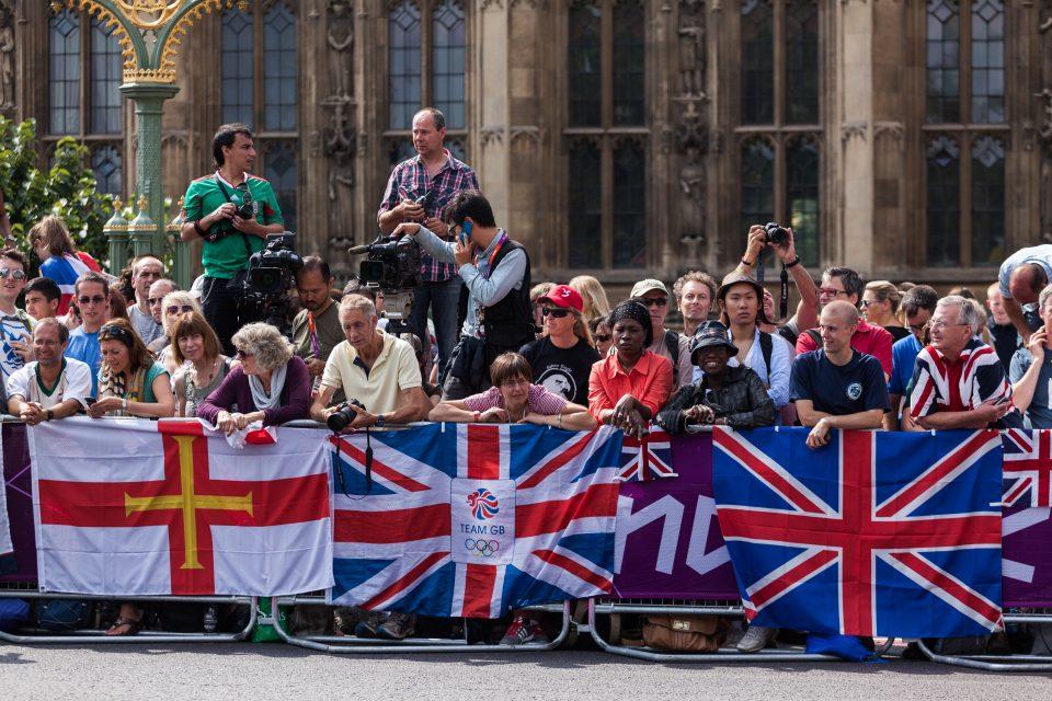 Marathon Fans London 2012 Olympics 0387