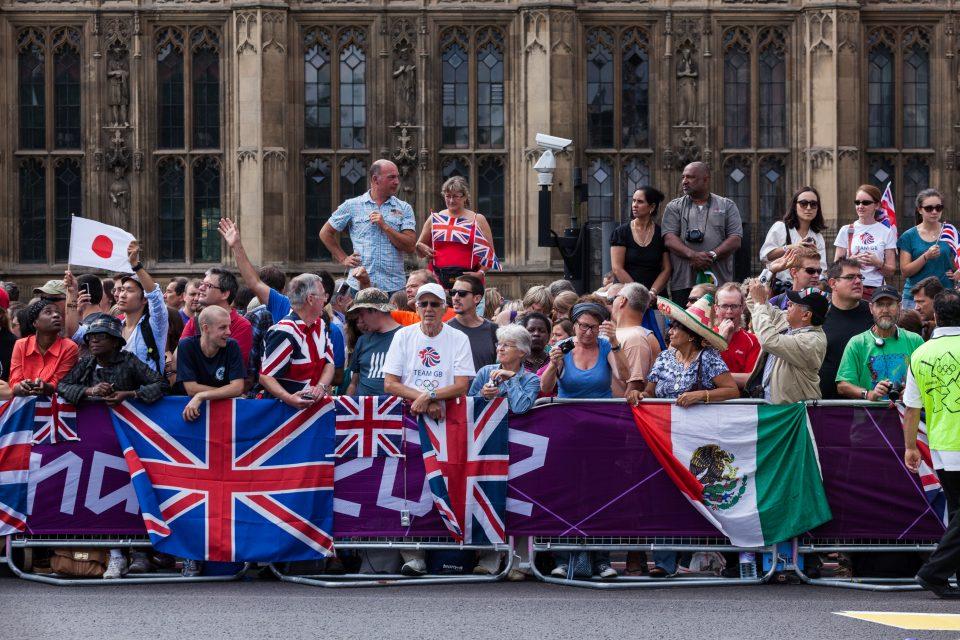 Marathon Fans London 2012 Olympics 0385