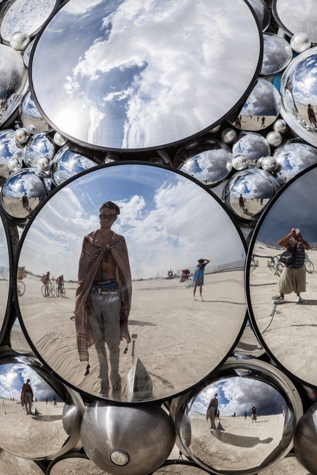 Mirror Art Burning Man 2012 171
