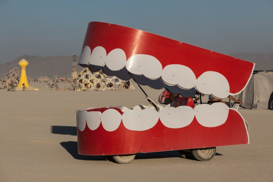 Wind Up Teeth Art Car Burning Man 2012 139