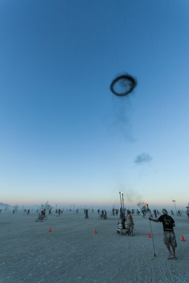 Giant Smoke Ring Burning Man 2012 106