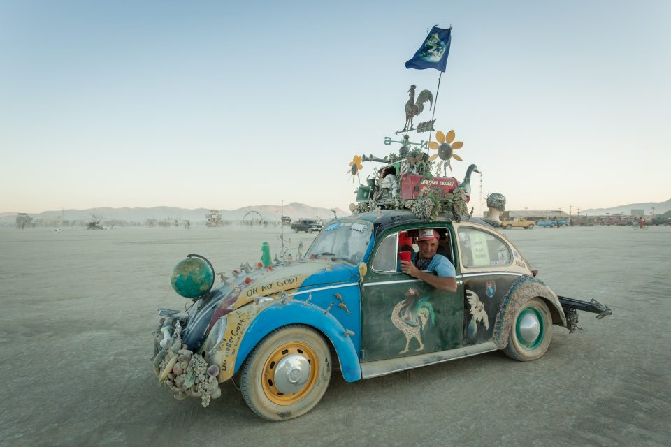 VW Bug Art Car Burning Man 2012 104