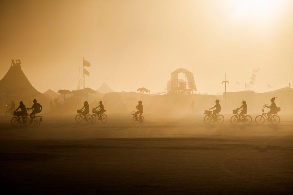 Sunset Burners Burning Man 2012 102