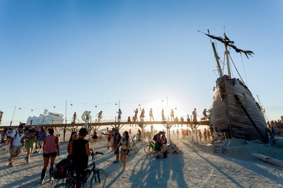 Sunset Kisses Burning Man 2012 097
