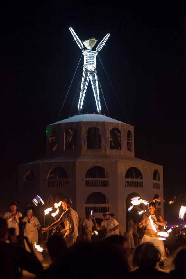 Fire Dancers Burning Man 2012 209